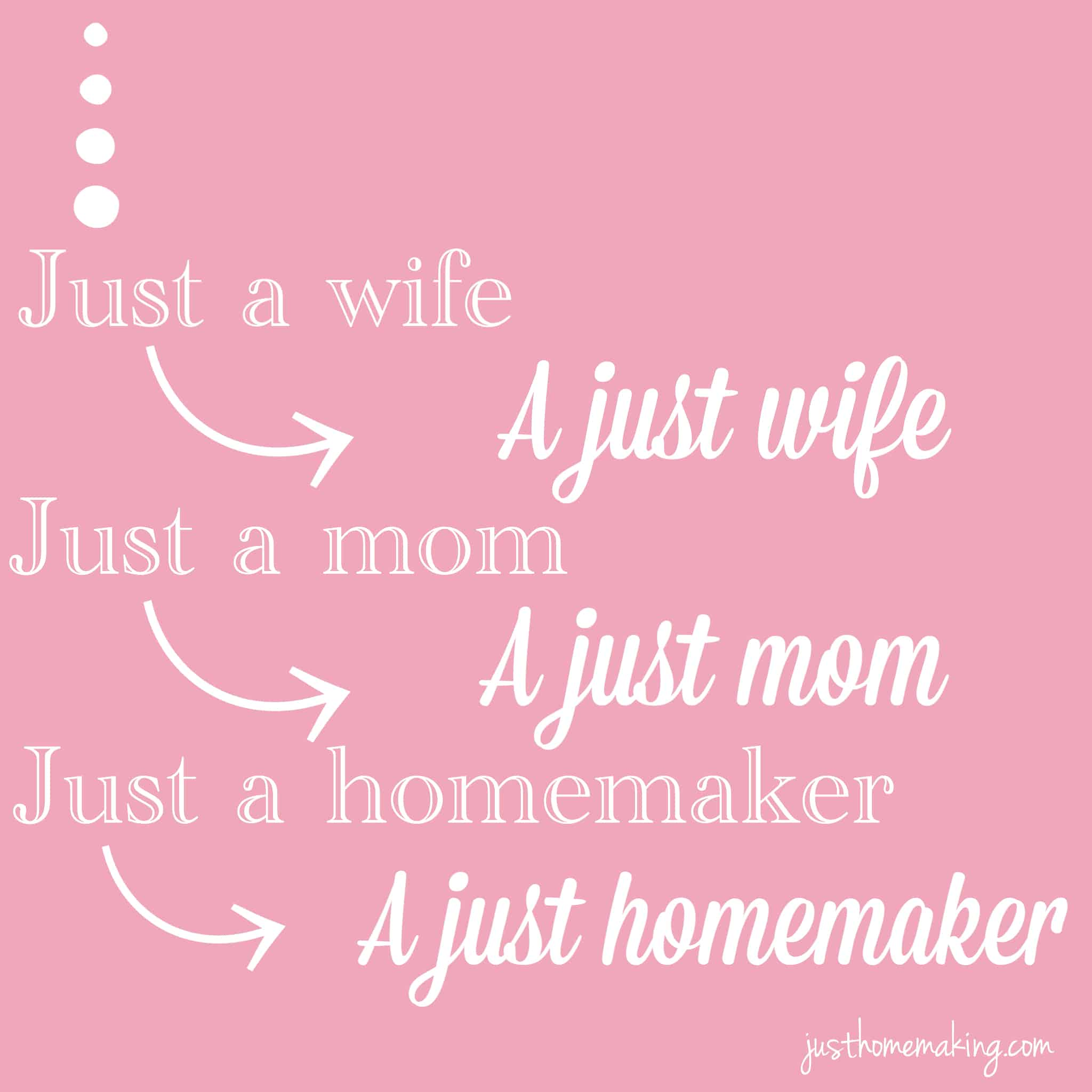 Just a wife