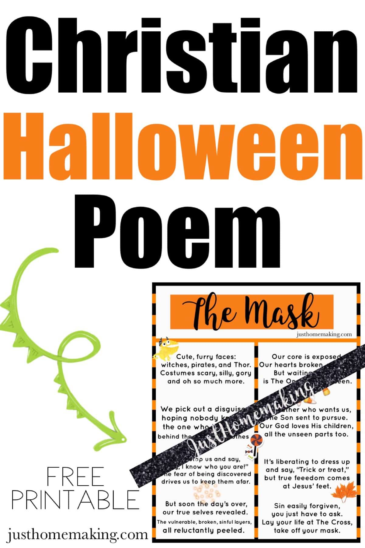 Halloween Poem | The Mask