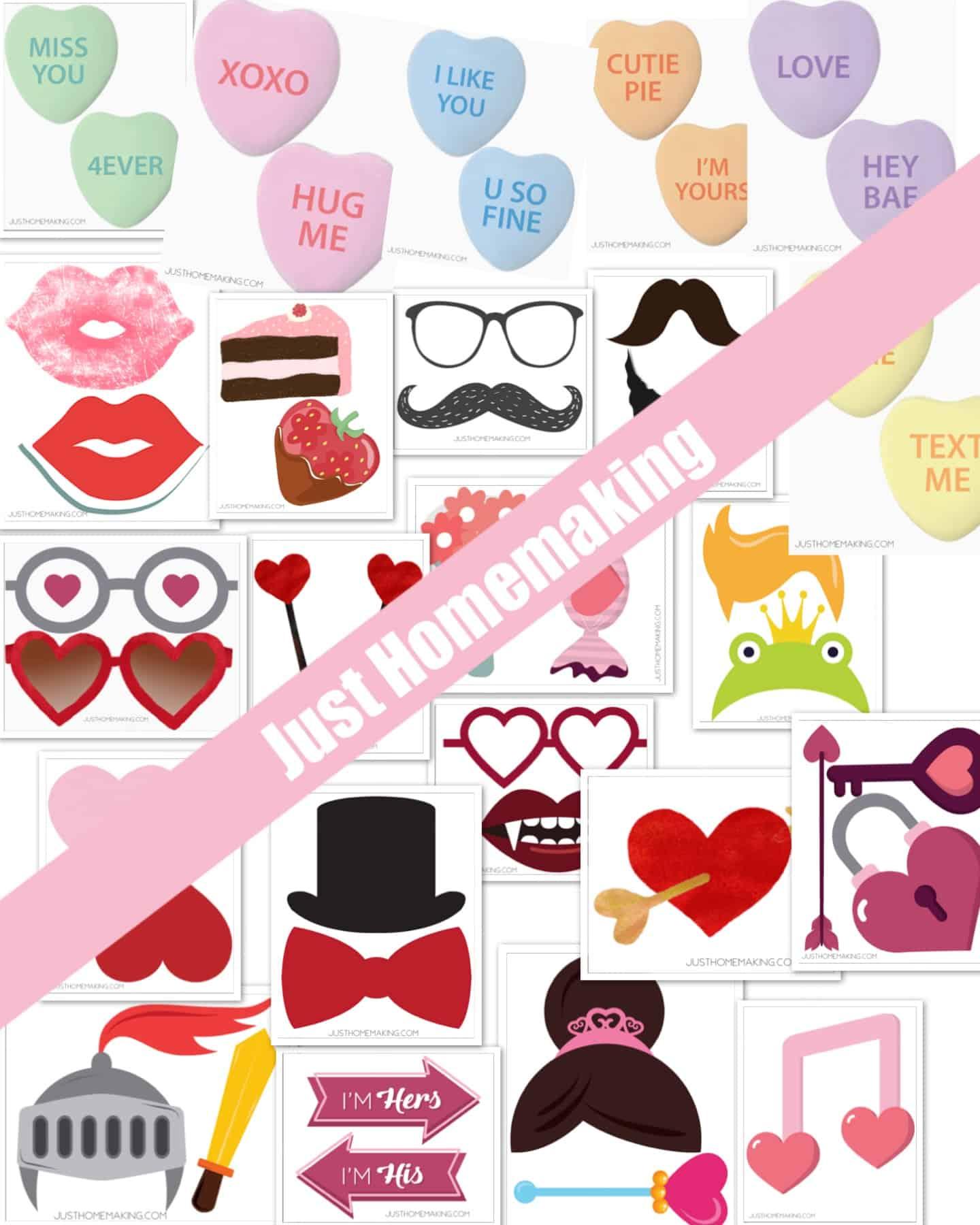 Valentine's Photo Props