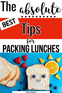 Pin: The absolute BEST tips for Packing lunches