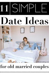 Pin: 11 Simple Date Night Ideas for old married couples