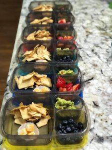 Make It Monday: prepared snack boxes