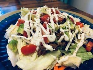 Gf df taco salad