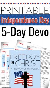 PIN: Fourth of July Devotion