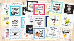 30 free lunchbox notes