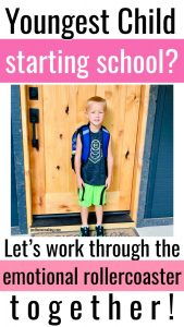 PIN: Youngest Child Starting School?