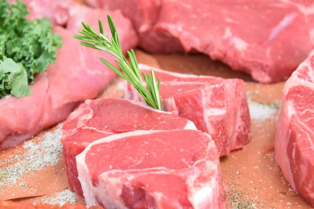cuts of fresh beef